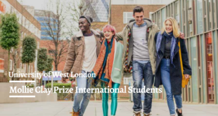 Mollie Clay Prize International Students in the UK