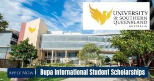 University of Southern Queensland (USQ) Bupa International Student Scholarships in Australia